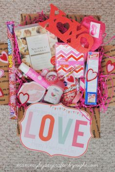 Mommy by day Crafter by night: Send Someone a Box Full of LOVE with Free Printable Love Note