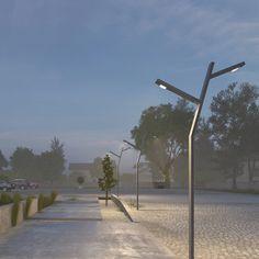 SIRRAC Led meets history | Sirrac Park Bahçe Aydınlatma Direkleri Konya Wind Turbine, Park, Lighting, Parks, Lights, Lightning