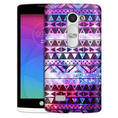 LG Leon Aztec Nebula Galaxy Black Slim Case
