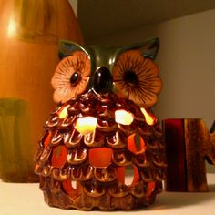 My Cute Owl candle holder