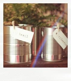 indoor garden tins