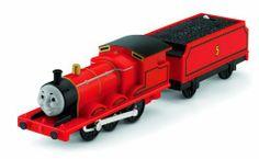 Thomas the Train: TrackMaster Talking James, http://www.amazon.com/dp/B002S52W24/ref=cm_sw_r_pi_awdm_P9jWsb0BKXZNT
