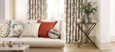 Sanderson Fabric - No Chintz Textiles    The Sanderson range of designer fabrics today includes printed designs on cotton, linen and silk, together with jacquard and dobby weaves, embroideries, sheers and a wide range of plains suitable for curtains, upholstery and soft furnishings.
