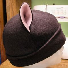 [Scarf pattern added!] It's cold already? Cat ear hat and tacgnoL scarf. - CLOTHING