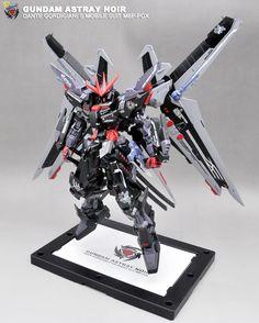 GUNDAM GUY: MG 1/100 Gundam Astray Blue Frame S + Gundam Astray Noir…