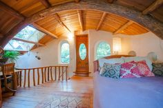 Cob House, Simple Architecture Comfortable Living. To see more information about Airbnb click the image.