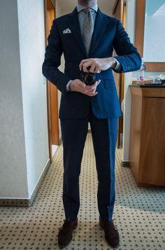 716e5df4c66214 anderson & sheppard Suit Shoes, Blue Shoes, Preppy Men, Preppy Style,