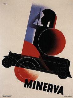 Leo Marfurt, Minerva Cars, Belgium, 1931