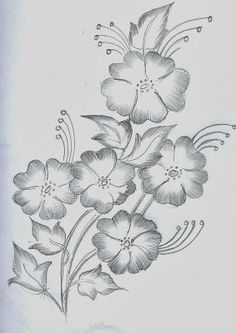 40 Easy Flower Pencil Drawings For Inspiration Easy Flower Drawings, Beautiful Flower Drawings, Pencil Drawings Of Flowers, Flower Art Drawing, Girl Drawing Sketches, Flower Sketches, Girly Drawings, Art Drawings For Kids, Art Drawings Sketches Simple