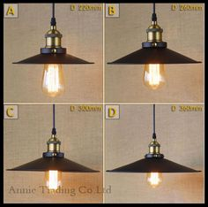Beautiful V V Modern Black Iron lamp shade lustre pendant lights Art Industrial restaurant bar kitchen room