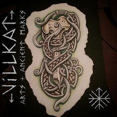 Фотографии Славянские и скандинавские татуировки   эскизы – 19 альбомов