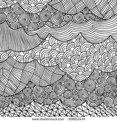 See A Rich Collection Of Stock Vectors Images For Zentangle Pattern You Can Buy On Shutterstock