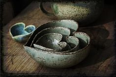 stacking heart bowls