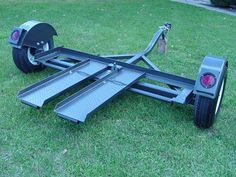 New Heavy Duty Tow Dolly with Electric Brakes, Tires, Turntable, Ratchets and Tie-Down Straps Image 9 Dump Trailers, Custom Trailers, New Trailers, Trailer Tires, Car Trailer, Trailer Dolly, Aluminum Trailer, Corvette For Sale, Trailer Plans