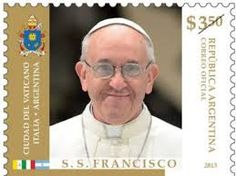 Stamp: Pope Francis (Argentina) (Pontificate of Pope Francis) Mi:AR :AR 3331 He Chose Me, Religion, Pope Francis, Stamp Collecting, Junk Journal, Tango, Postage Stamps, Catholic, America