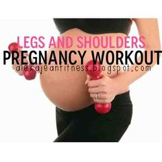 http://www.when-does-morning-sickness-start.com/working-out-while-pregnant.html Working out while pregnant. Fitness ; Health: Pregnancy Workouts - Legs and Shoulders