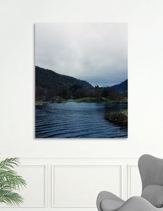Discover «Snowdonia_1», Limited Edition Canvas Print by Ana Santos - From 65€ - Curioos