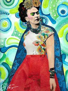 Frida Kahlo Art Prin
