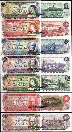 i dont even care i dont even like governments ruined my life! Canada banknotes - Canada paper money catalog and Canadian currency history Canadian Things, I Am Canadian, Canadian History, Canadian Dollar, Coins Worth Money, Valuable Coins, Old Money, Canada Day, Coin Collecting