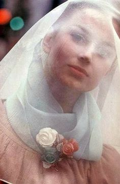 Fashion photo by Saul Leiter, 1960