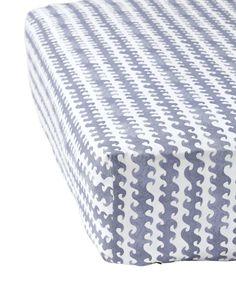 Wave Crib Sheet - Crib Sheets | Serena and Lily