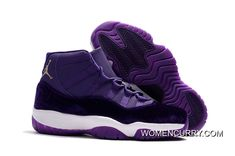 New Air Jordan 11 Heiress Purple Velvet b7e18bb25
