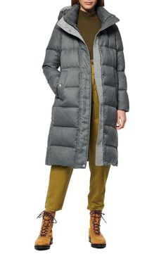 Find Andrew Marc Brushed Long Down Puffer Coat online. Shop the latest collection of Andrew Marc Brushed Long Down Puffer Coat from the popular stores - all in one Down Puffer Coat, Down Parka, Down Coat, Andrew Marc Coat, Floral Short Sleeve Tops, Coats For Women, Clothes For Women, Denim Shirt Dress, How To Roll Sleeves