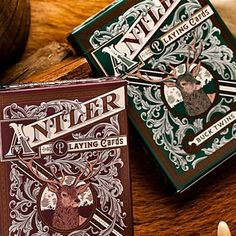 Antler Playing Cards by Dan and Dave