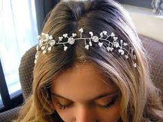 beach bride hair accessories - Google Search