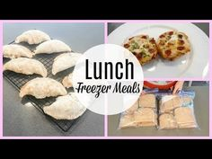 FILL YOUR FREEZER CHALLENGE~ LUNCH - YouTube