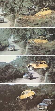 Citroën 2CV6 (in the famous chase scene from the Bond film 'For your eyes only')