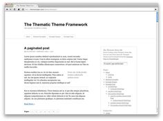 WordPress: How to easily create a Thematic child theme
