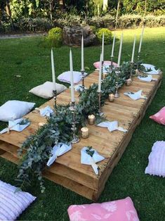 , fabulous DIY ideas for a summer garden party. , fabulous DIY ideas for a summer garden party Garden Parties, Outdoor Parties, Outdoor Fun, Braut Shirts, Picnic Birthday, Picnic Theme, Garden Birthday, 22nd Birthday, Summer Party Decorations