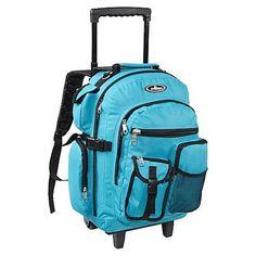 Everest Deluxe Wheeled Backpack - Dark Purple - Luggage - Unbeatablesale Inc. Luggage Backpack, Hiking Backpack, Luggage Bags, Backpack Bags, Travel Luggage, Purple Luggage, Backpacks For Sale, College Backpacks, Backpack With Wheels