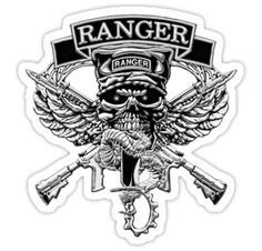 Army Rangers Skull Army ranger Army Tattoos, Military Tattoos, Skull Tattoos, Body Art Tattoos, Military Memes, Military Spouse, Military Art, Sas Special Forces, Military Special Forces