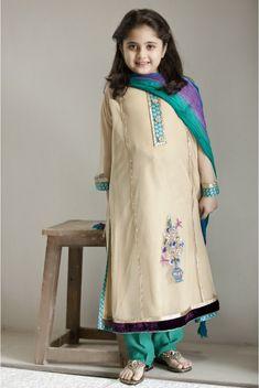 Pakistani Dress Designs for Girls - Maria B. Kids Collection 2014