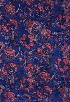 "Thomas Wardle, ""Germaine""upholstery fabric, 1890. Velveteen. Leek, England. Museum of Applied Arts Budapest."