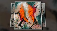 'Abstract Art: New Paintings'. Click to watch the video!