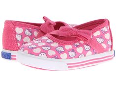 Keds Kids Hello Kitty Champion K Maryjane Crib (Infant)