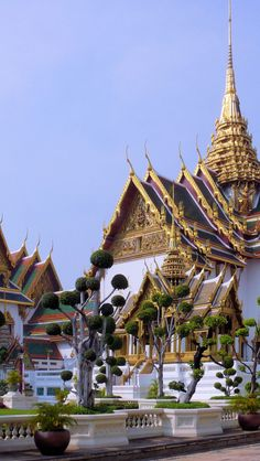 Grand Palace, Bangkok, Thailand saw on TV, thought what exquisite buildings like a fairy tale .