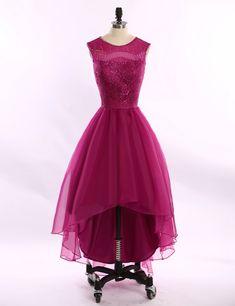 Charming Prom Dress,Elegant Prom Dresses,High Low Prom Dress,Short