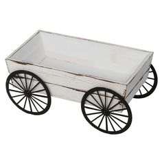 I pinned this Charleston Wagon from the A Natural Touch event at Joss and Main! How To Antique Wood, Old Wood, Rat House, Wooden Wagon, Outdoor Crafts, Wood Home Decor, Wood Stone, Crafts For Girls, Joss And Main