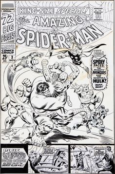 Cover to The Amazing Spider-Man Annual #3 by John Romita and Mike Esposito tumblr_no9jyqcNvV1rwyqmxo1_540.jpg (535×810)