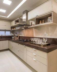 """9,031 curtidas, 51 comentários - Home•decor•arq•house•int•casa (@_homeidea) no Instagram: """"Porque amamos uma cozinha em tons neutros! @pontodecor Projeto Arquitetas Camilla e Giovana Via…"""""""