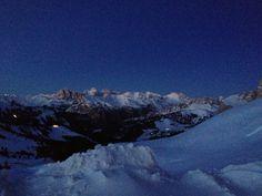 Passo Sella sunset