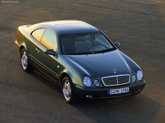 Mercedes-Benz CLK coupe.