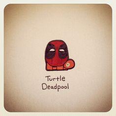 Turtle Deadpool #turtleadayjune - @turtlewayne- #webstagram