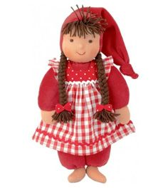 Kathe Kruse Waldorf Schatzi Plush Doll