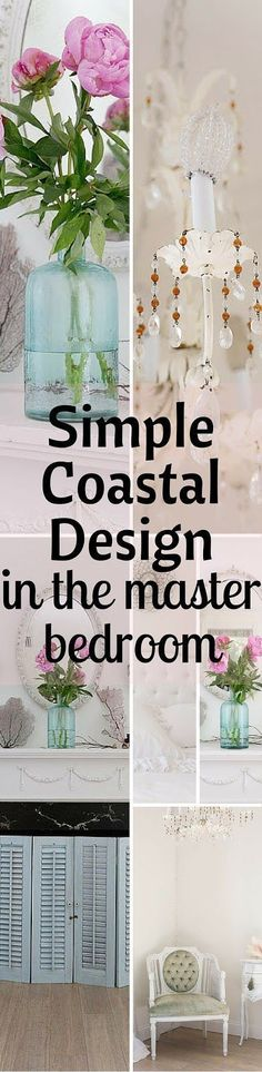 Simple Coastal Design In The Master Bedroom - Shabbyfufu