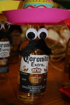 Fiesta party favors!  These lil' guys were so cute and simple to make!